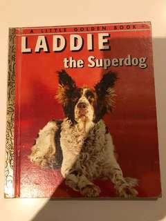 Laddie The Superdog - Little Golden Book