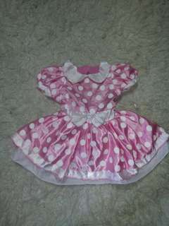 Minnie mouse 2-4 yrs old