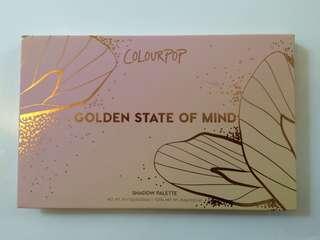 """Colourpop """"GOLDEN STATE OF MIND"""" Eyeshadow Palette"""