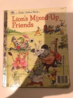 Lions Mixed Up Friends - Little Golden Book