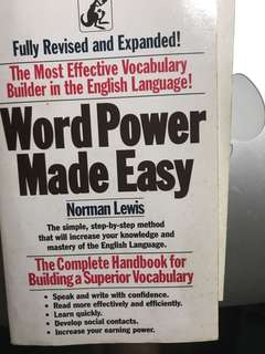 Word Power Made Easy
