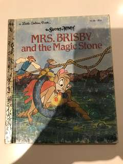 Mrs Brisby And The Magic Stone - Little Golden Book