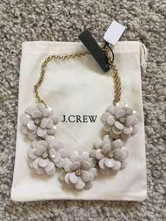 Jcrew floral statement necklace