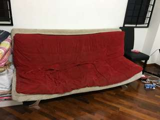 Moving out sofa bed