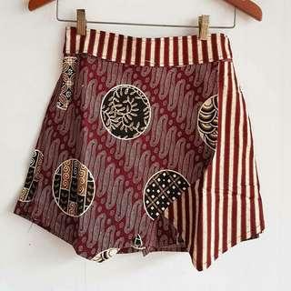 Paragon batik skort