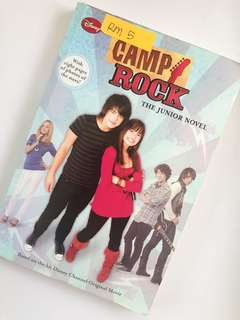 Camp Rock The Junior Novel by Lucy Ruggles
