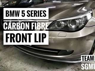 BMW 5 Series Carbon Fibre Samurai Lip!** INSTALLATION AND DELIVERY PROVIDED!**