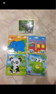Free mail! Kids puzzle