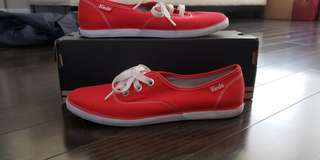 Keds Red Canvas Sneakers size 7