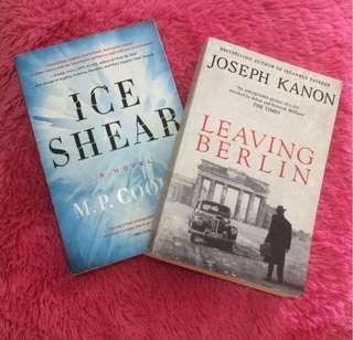 Ice Shear & Leaving Berlin