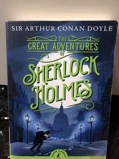 Sherlock Holmes Great Adventures Story Book - Sir Arthur Conan Doyle