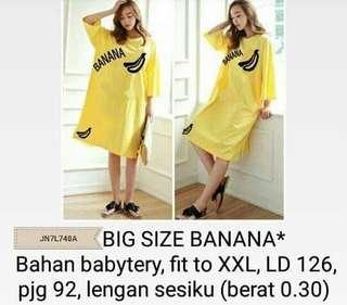 Big size banana