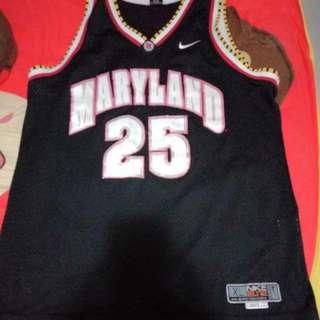 NCAA basketball  jersey Maryland