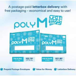 Pre-Paid Postal Service For Domestic Delivery.