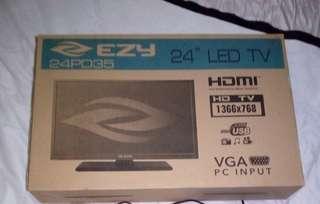 "EZY 24"" full HD tv new in box"