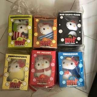 Mcdonald Hello Kitty bubbly world Macdonald collection
