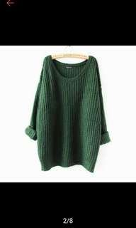 Knit sweater pull over. PO