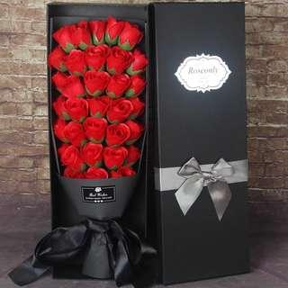 Rose Bouquet in box