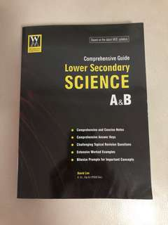 Secondary Science Assessment Book