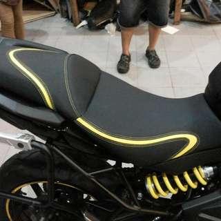 Moto Addict Singapore Kawasaki Versys 650 ER6N Custom Rumble Seat Ready Stock ! Promo ! Do Not PM ! Kindly Call Us ! Kindly Follow Us !