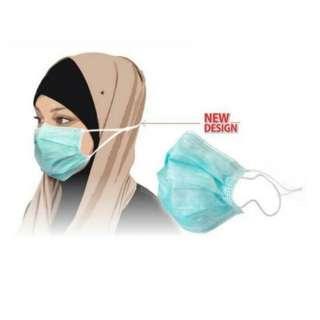 masker debu motor face operasi polusi asap wajah flu operation hijab