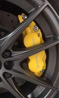 Advance brand mini 6 pots big brake kit system