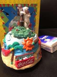 絕版-可口可樂 音樂盒 Coca Cola music box 一個