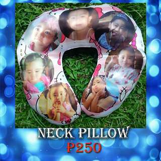 Cherry's Personalized Neck Pillow
