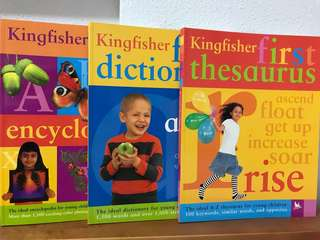 Kingfisher encyclopedia Children Book nt usborne dictionary thesaurus