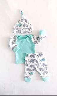👶🏻 Tiffany Elephy Baby Set 👶🏻