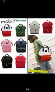 (Free normal mail or door delivery) 25×34×14cm Anello Backpack