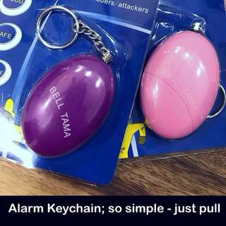 Alarm Keychain (instead of a whistle) [personal alarm self protection defence scare dogs safety anti-attack devices gifts uncle.anthony uncle anthony uac] FOR MORE PICS & DETAILS, 👉 http://carousell.com/p/137836087