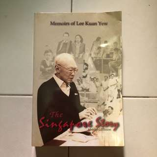 Memoirs of Lee Kuan Yew - The Singapore Story (Abridged Edition)