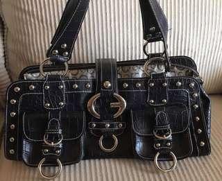 Guess Linda Satchel Handbag Purse