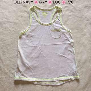 Old Navy White Sando Top