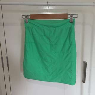 KOOKAI bandage skirt green