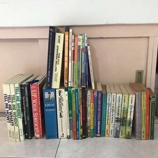 Pre-loved books