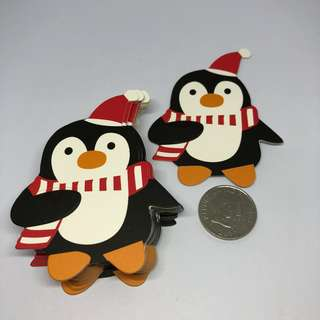 50pcs Lollipop Gift Card Holder - Christmas Penguin