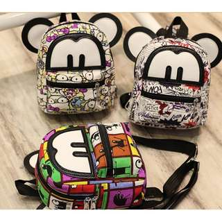 (Preorder) mickey printed bag