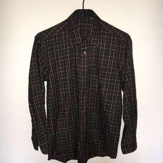 *古著 條紋襯衫