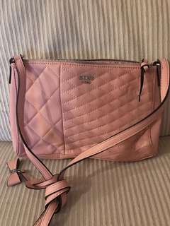 Guess Pink Crossbody Purse Handbag
