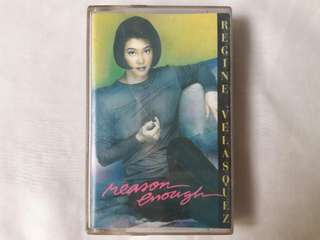 "Regine Velasquez ""Reason Enough"" Cassette Tape"