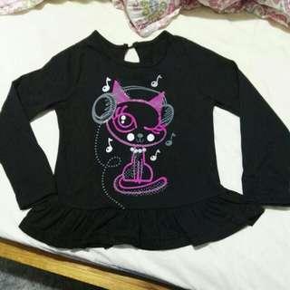 Music cat tshirt