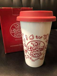 The Spachetti House 意粉屋陶瓷杯 not Starbucks