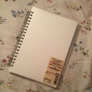 A5 Dotted Muji Notebook (Bullet Journal)