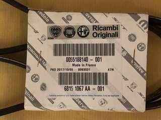 Alfa Romeo 1592.2 Power Steering Belt