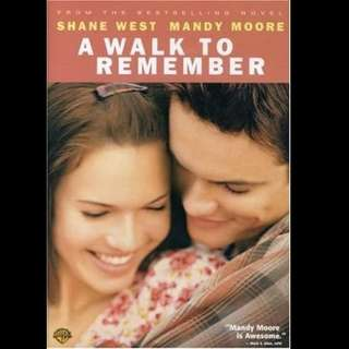 [Rent-A-Movie] A WALK TO REMEMBER (2002)