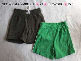George & Gymboree Bundle Shorts