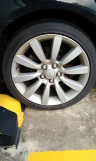 """Cheapest 18"""" rims n tires package"""
