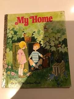 My Home - Little Golden Book